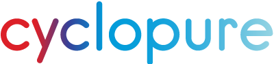 the Cyclopure logo